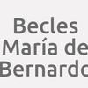 Becles María de Bernardo
