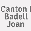 Canton I Badell  Joan
