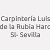 Carpintería Luis de la Rubia Haro SL- Sevilla