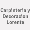 Carpinteria Y Decoracion Lorente