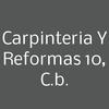 Carpinteria y Reformas 10, C.B.