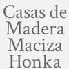 Casas de Madera Maciza Honka