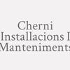 Cherni Installacions I Manteniments