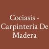 Cociasis - Carpintería De Madera