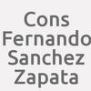 Cons. Fernando Sanchez Zapata