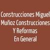 Construcciones Miguel Muñoz - Construcciones y Reformas En General