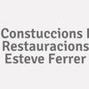 Constuccions I Restauracions Esteve Ferrer