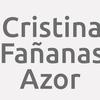 Cristina Fañanas Azor