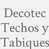 Decotec Techos Y Tabiques