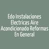 EDO INSTALACIONES ELECTRICAS AIRE ACONDICIONADO REFORMAS EN GENERAL