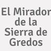 El Mirador De La Sierra De Gredos