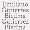 Emiliano Gutierrez Biedma Gutierrez Biedma