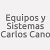 Equipos y Sistemas Carlos Cano
