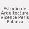 Estudio de Arquitectura Vicente Peris Palanca