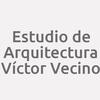 Estudio De Arquitectura Víctor Vecino