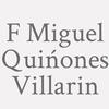 F. Miguel Quińones Villarin