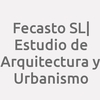 Fecasto Sl | Estudio De Arquitectura Y Urbanismo