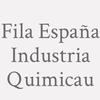 Fila España Industria Quimicau
