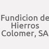 Fundicion De Hierros Colomer, S.a.