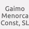 Gaimo Menorca Const, SL