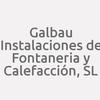 Galbau Instalaciones De Fontanería Y Calefacción, S.L.