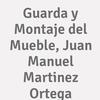 Guarda Y Montaje Del Mueble, Juan Manuel Martinez Ortega