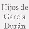 Hijos de García Durán