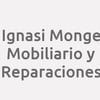 Ignasi Monge. Mobiliario Y Reparaciones