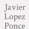 Javier Lopez Ponce