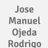 Jose Manuel Ojeda Rodrigo