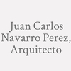 Juan Carlos Navarro Perez, Arquitecto