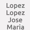 Lopez Lopez Jose Maria