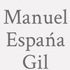 Manuel Espańa Gil