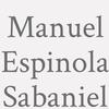 Manuel Espinola Sabaniel
