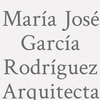 María José García Rodríguez. Arquitecta