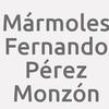 Mármoles Fernando Pérez Monzón