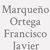 Marqueño Ortega Francisco Javier