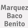 Marquez Baco  Benito