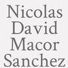 Nicolas David Macor Sanchez