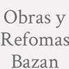 Obras Y Refomas Bazan