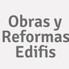 Obras Y Reformas  Edifis