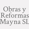 Obras Y Reformas Mayna  S.l