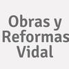 Obras Y Reformas Vidal