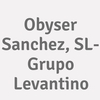 Obyser Sanchez, Sl - Grupo Levantino