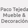 Paco Tejeda Mueble & Decoración