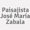 Paisajista José María Zabala