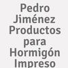 Pedro Jiménez Productos Para Hormigón Impreso