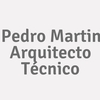 Pedro Martin. Arquitecto Técnico