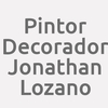 Pintor Decorador Jonathan Lozano