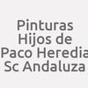Pinturas Hijos de Paco Heredia  Sc Andaluza